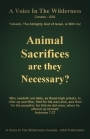 Animal Sacrifices Booklet - Free Upon Request
