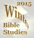 A Voice In The Wilderness - Canada - 2014 Winter Bible Studies